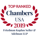 Friedman Kaplan and Firm Partners Recognized in Chambers USA 2019
